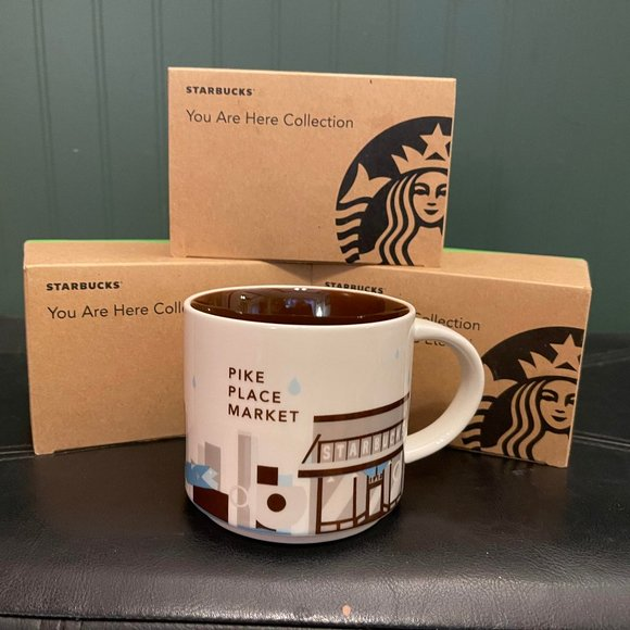 """Starbucks """"You are here collection"""" PIKE PLACE"""